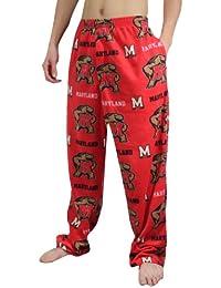 NCAA Maryland Terrapins Homme Polar Fleece Sleepwear / Pajama Pants