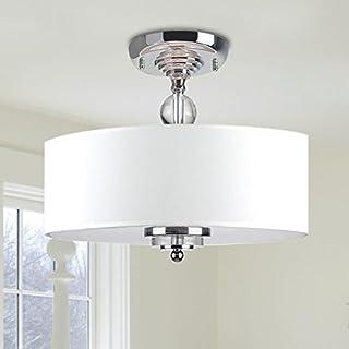 Saint Mossi Modern Chandelier Lighting Flush mount LED Ceiling Light Fixture Pendant Lamp for Dining Room Bathroom Bedroom Livingroom Height 30cm x Width 40cm