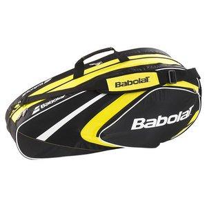 Babolat Schlägertaschen Racket Holder X6 Club Line Gelb