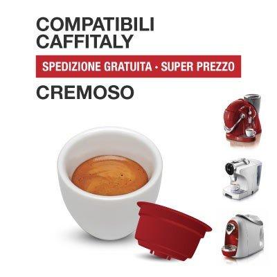 Caffitaly 120Cápsulas café compatibles Miscela cremoso