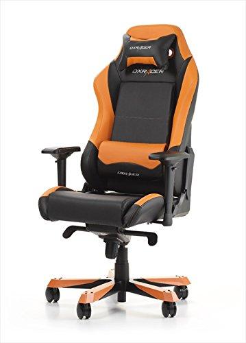 DX Racer Iron IF11 Gamer-Drehstuhl Orange