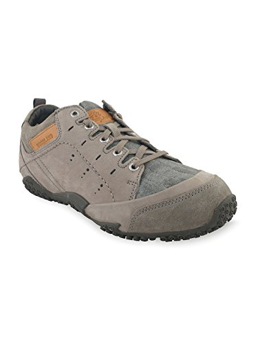 Woodland Men's Grey Leather Outdoor Shoes-8 Uk  available at amazon for Rs.2835