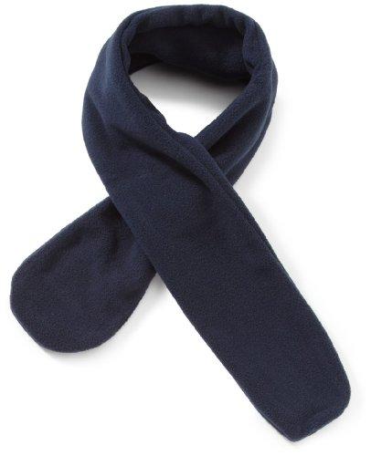 Playshoes Unisex - Kinder Schal  Fleece-Schal von Playshoes, aus hochwertigem Fleece in 5 Farben, Art. 422003, Gr. one size , Blau (11 marine ) (Mädchen Schals)
