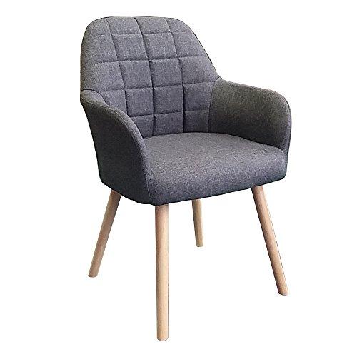 MCTECH 2x Stuhl Esszimmerstühle Esszimmerstuhl Stuhlgruppe Konferenzstuhl Küchenstuhl Armlehne...