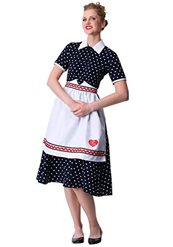 Women's I Love Lucy Lucy Fancy Dress Costume Medium