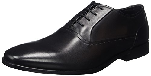 Hugo Square_oxfr_lt 10197578 01, Oxfords Homme Noir (Black)