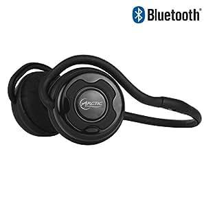 ARCTIC P253 BT - Mobile Headsets (Micro-USB, Omni, ohraufliegend, 18 - 22000 Hz, Lithium-Ion (Li-Ion), Schwarz)