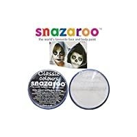 Snazaroo 18ml White and Black Face Paint Bundle