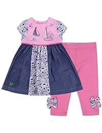 The Essential One - Baby Kinder Mädchen T-Shirt und Leggings - Rosa - EOT388