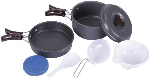 Fox Outdoor Outdoor Outdoor Pentole Aluminium, Grigio (grigio) | Offerta Speciale  | Qualità E Quantità Garantita  701f17