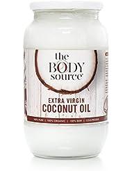 Huile de coco extra vierge (1 Litre) – 100 % brute et certifiée biologique