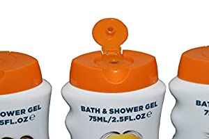 DESPICABLE ME Bath and Shower Gel Travel Pack 4 x 75 ml