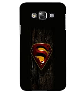 PrintDhaba Superman Logo D-2023 Back Case Cover for SAMSUNG GALAXY GRAND 3 (Multi-Coloured)