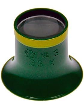 Sternkreuz Uhrmacherlupe 3,3-Fach Lupe Juwelier Okular Made in Germany 312.SK30