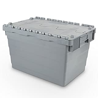 Hans Schourup Reusable Container with Hinged Lid, 22601028 68 Litre 600 x 400 x 365 mm