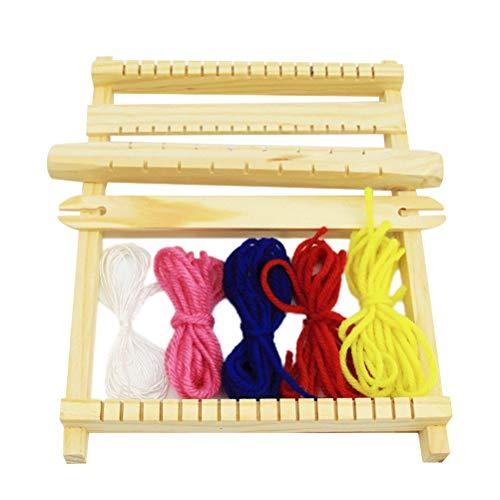 l aus Holz Multi Handwerk Webstuhl Rahmen für Kinder Handcraft ()