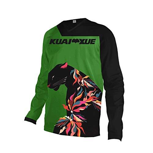 KuaiXue Uglyfrog Neueste Downhill Trikot Langarm MTB Trikot Herren Racewear FR Jersey Fahrrad Sport Enduro Atmungsaktives Hip -