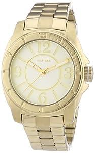 Reloj Tommy Hilfiger Watches 1781139 de cuarzo para mujer, correa de acero inoxidable chapado color dorado de Tommy Hilfiger Watches