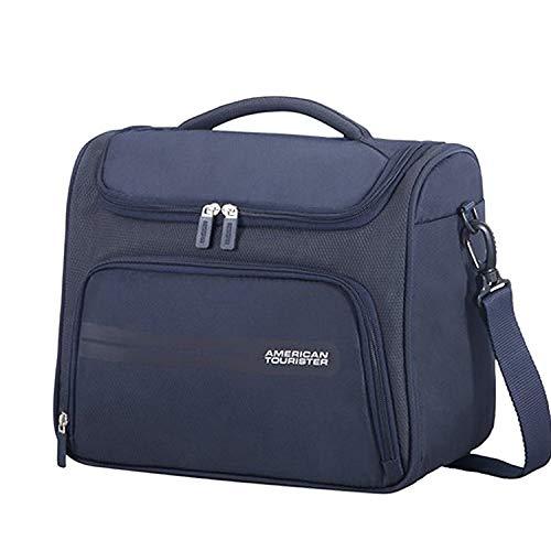American Tourister Summer Voyager Beauty Case Da Viaggio, 32 cm, 15 litri, Midnight Blue