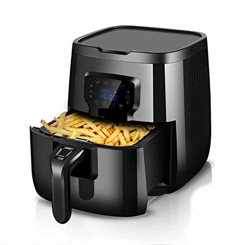 Intelligent Kein Öl Schwarz Air Bratpfanne Große Kapazität Multifunktionale Elektrische Fritteuse Ofen Haushalts Kartoffelchips Maschine-2.8L