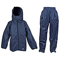Dry Kids jacket and trouser set navy blue 13/14yrs