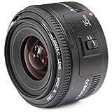 YONGNUO YN50mm F1.8N Standard Prime Lens Large Aperture Auto Manual Focus AF MF For Nikon DSLR Cameras (YN50mm)