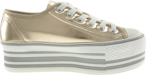 C50 Plattform ouro loch Low Maxstar Trendy Tc Sneakers top 6 r6Zrg7