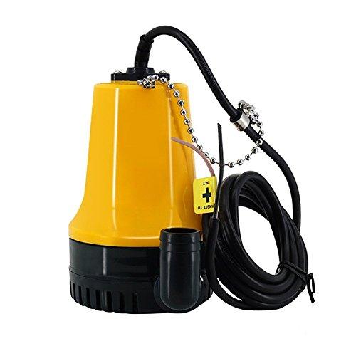 Lenzpumpe / Bilgenpumpe mit internem Schwimmerschalter, tauchfähig, 12 Volt, 750 GPH -