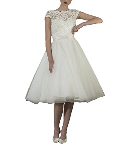 Beyonddress Damen Hochzeit Kleidung Brautkleid Hochzeitskleid Spitze Prinzessin...