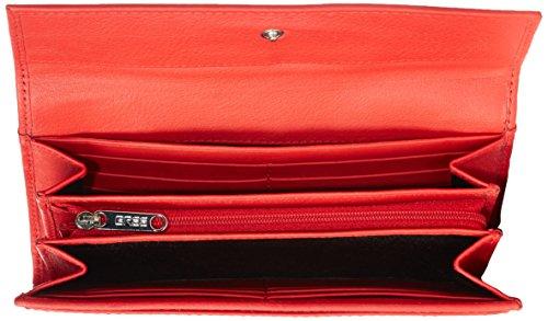 BREE Unisex-Erwachsene Liv 110 Geldbörsen Rot (red smooth 151)
