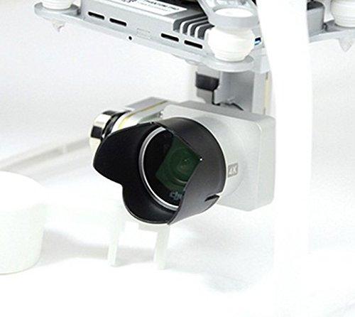 Anbee Bündel von Kohlenstofffaser Gimbal Schutz + Objektivdeckel + Gegenlichtblende für DJI Phantom 3 Quadkopter - 7