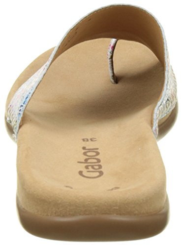 Gabor Shoes Fashion, Ciabatte Donna Bianco (weiss 41)