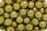 Luxury Solid Milk Chocolate Gold Foiled Balls