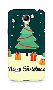 Amez designer printed 3d premium high quality back case cover for Samsung Galaxy S4 Mini (Christmas card greeting)