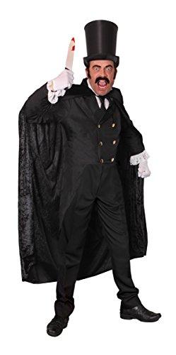 England Kostüme Motto (JACK THE RIPPER KOSTÜM =8 TEILIGES SET= VON ILOVEFANCYDRESS®=DIE PERFEKTE VERKLEIDUNG FÜR FASCHING UND KARNEVAL ODER HALLOWEEN= DIE FRACK JACKE IST ERHALTBAR IN 5 VERSCHIEDENEN GRÖSSEN=SET BEINHALTET-ZYLINDER + FRACK JACKE+)