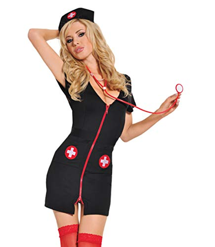 amen Dressing Uniform Dessous Naughty Nurse Kostüm Outfit ()