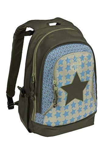 Lässig Mini Backpack Big Kinderrucksack Kindergartentasche,Starlight olive -