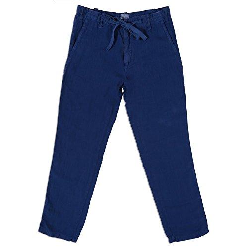 hartford-linen-trouser-48-navy