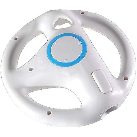 TOOGOO (R) Nuovo ciclo VOLANTE PER NINTENDO WII MARIO KART GIOCO - Wii Che Corre Gioco Volante