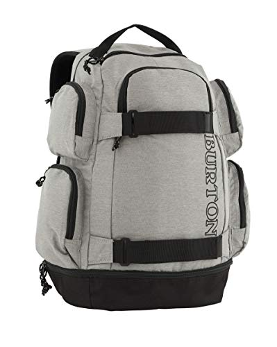 Burton Distortion Mochila, Unisex Adulto, (Gris Heather), Talla única