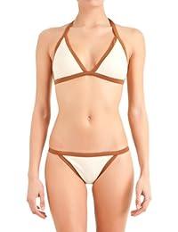 women'secret - Haut de bikini triangle avec coussinets amovibles et doublure intérieure - Femme