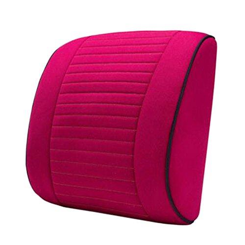 Blancho Coussin de voiture de coussin arrière élégant/soutien de taille de coussin de chaise de bureau #14