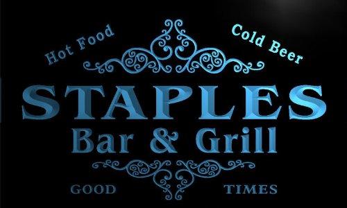 u42891-b-staples-family-name-bar-grill-home-decor-neon-light-sign-barlicht-neonlicht-lichtwerbung