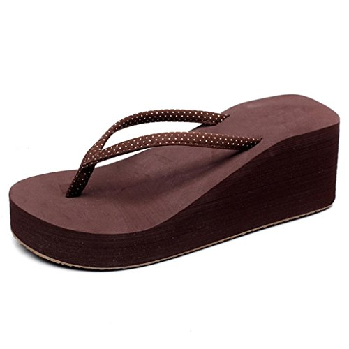 Sandali da donna da Sandali unisex - adulto,Nero, marrone, blu scuro brown heels