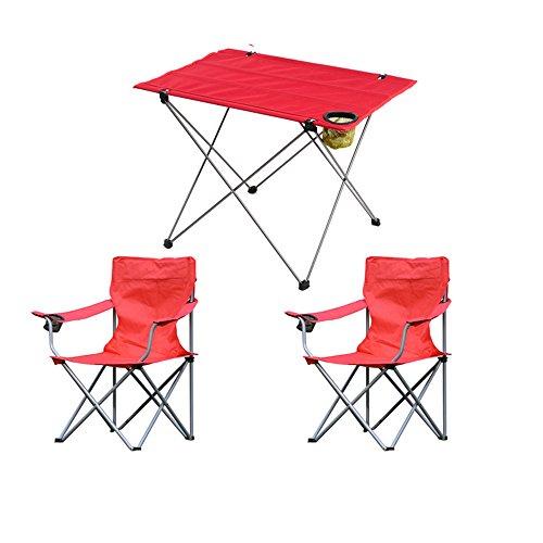 Hochstuhl Outdoor Klappstühle / Camping Portable Klapptische und Stühle / Set Freizeit Tische und Stühle / Strand Barbecue Klappstuhl / Angeln Stuhl (2 Farben optional) ( farbe : A )