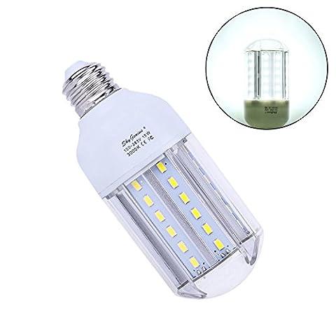 E27 15W LED Mais Birne Beleuchtung, Tageslicht 6000K Energiesparlampe Leuchtmittel