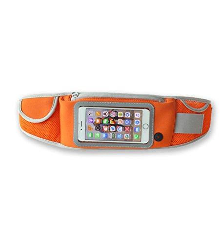 Outdoor Sports Multifunktions Taschen Taschen Joggen Stecker Frau Universal Handy Taschen Orange