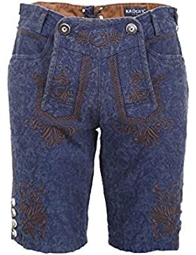 Michaelax-Fashion-Trade Krüger - Herren Trachtenhose in Blau, Blue (95691-8)