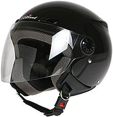 Scotland Helm Motorrad/Scooter mit Visier lang 60 (L) schwarz