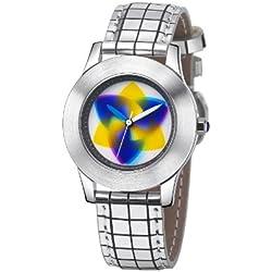 Rainbow Watch Unisex Wristwatch Elegancia Tripod EL47A-B-GS-tr